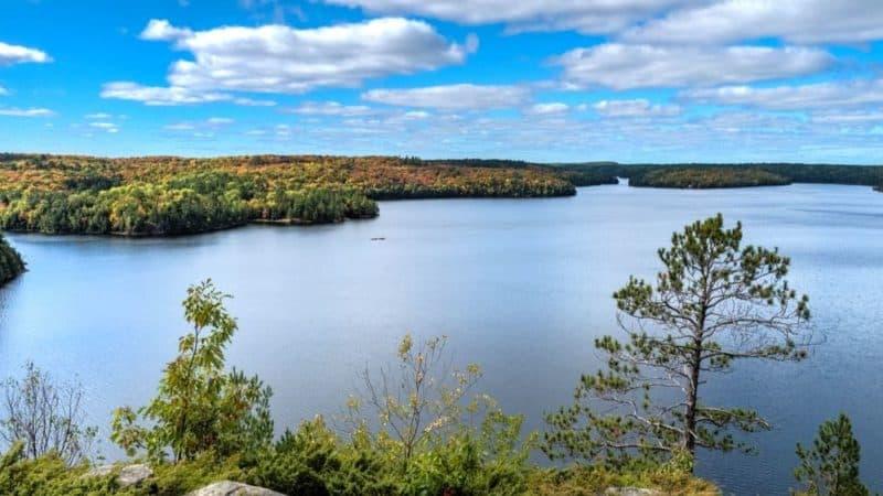 ontario fall colours restoule provincial park