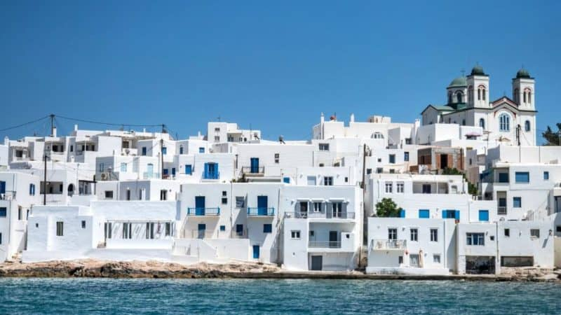 paros 2 day itinerary naoussa village