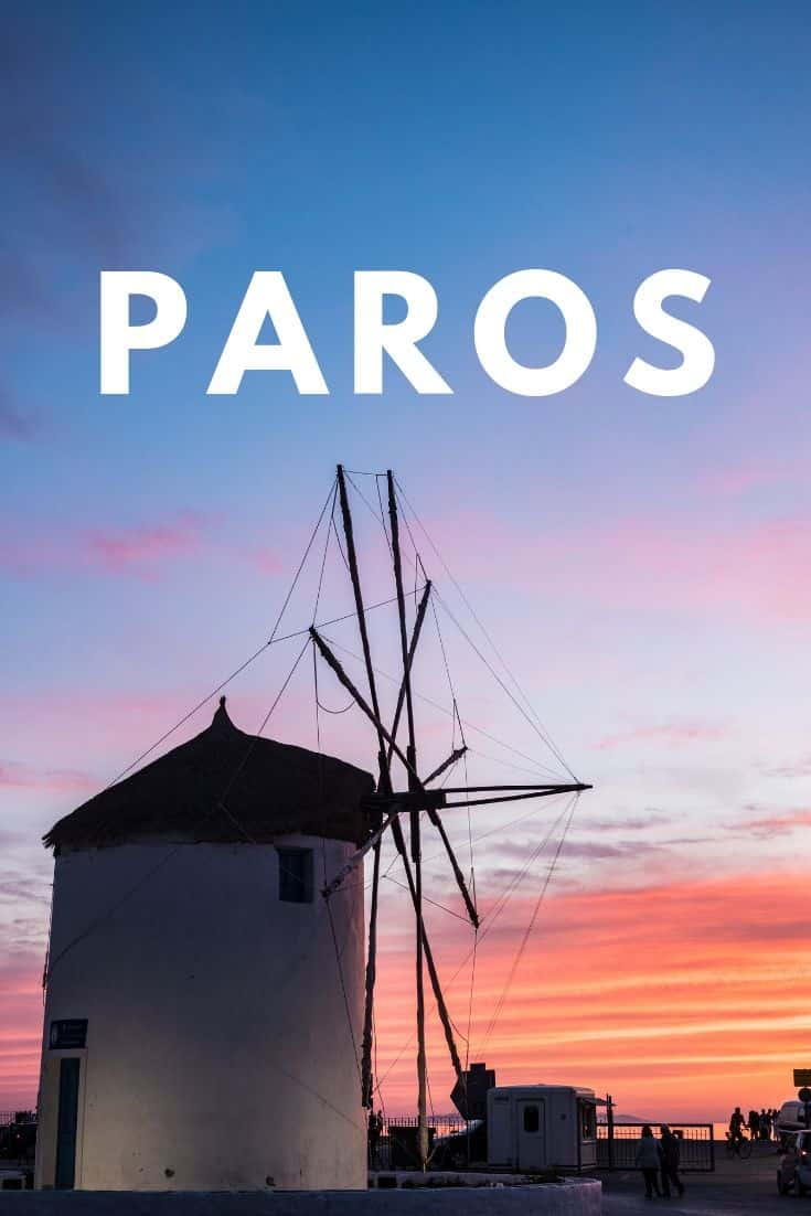 Everything you need to know to plan your trip to island of Paros in the Greek Islands with this Paros 2 day itinerary. Tips and practical knowledge inside. #greece #greekislands #paros