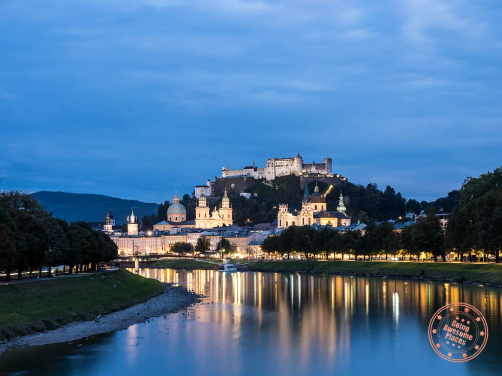 austria 7 day itinerary salzburg fortress