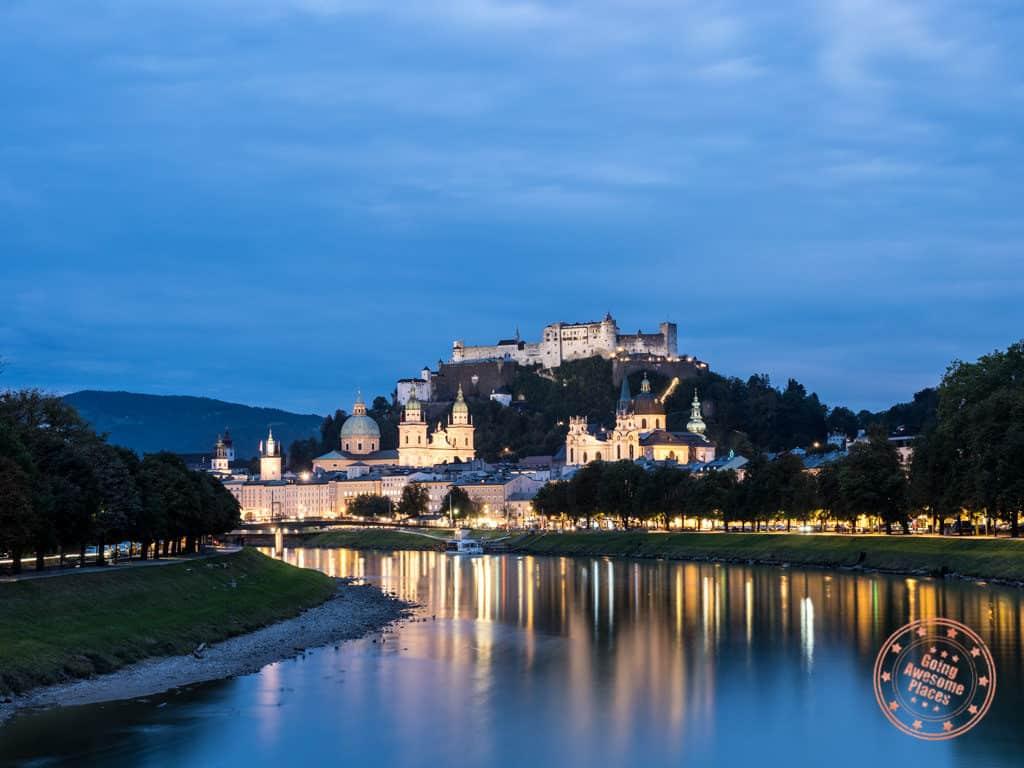 austria 7 day itinerary salzburg fortress