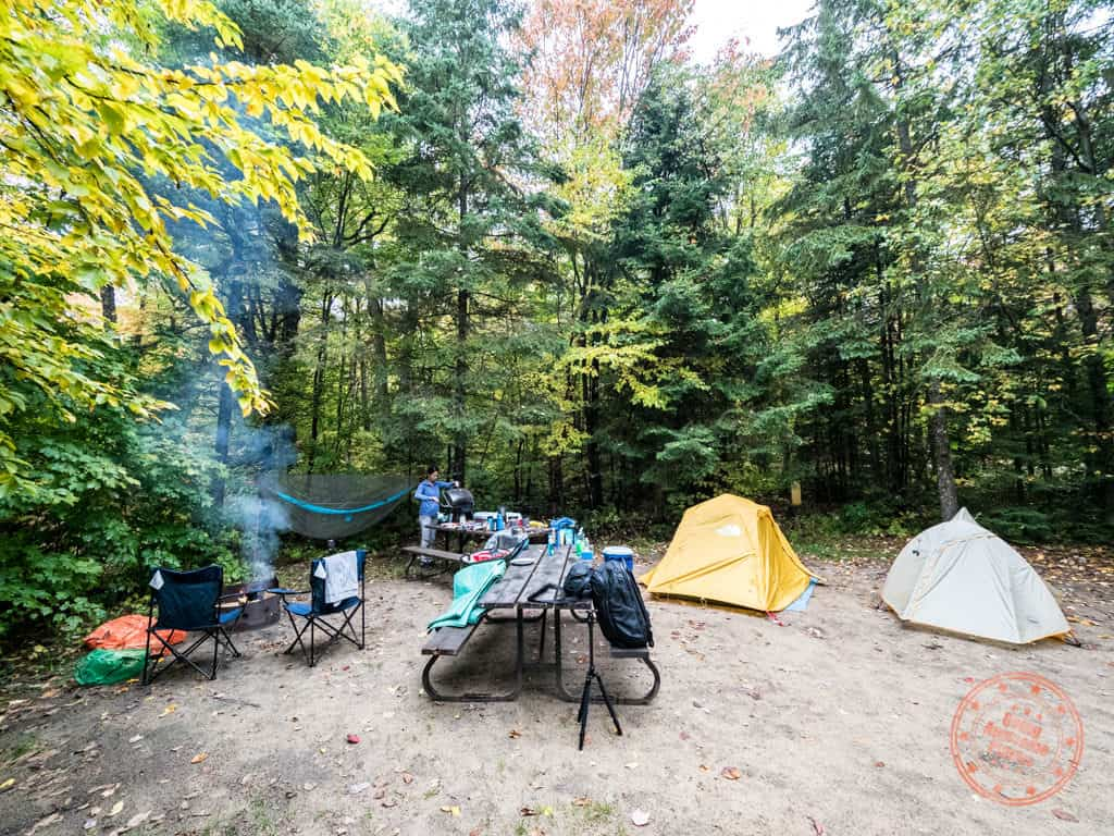 mikisew hardwoods campsite