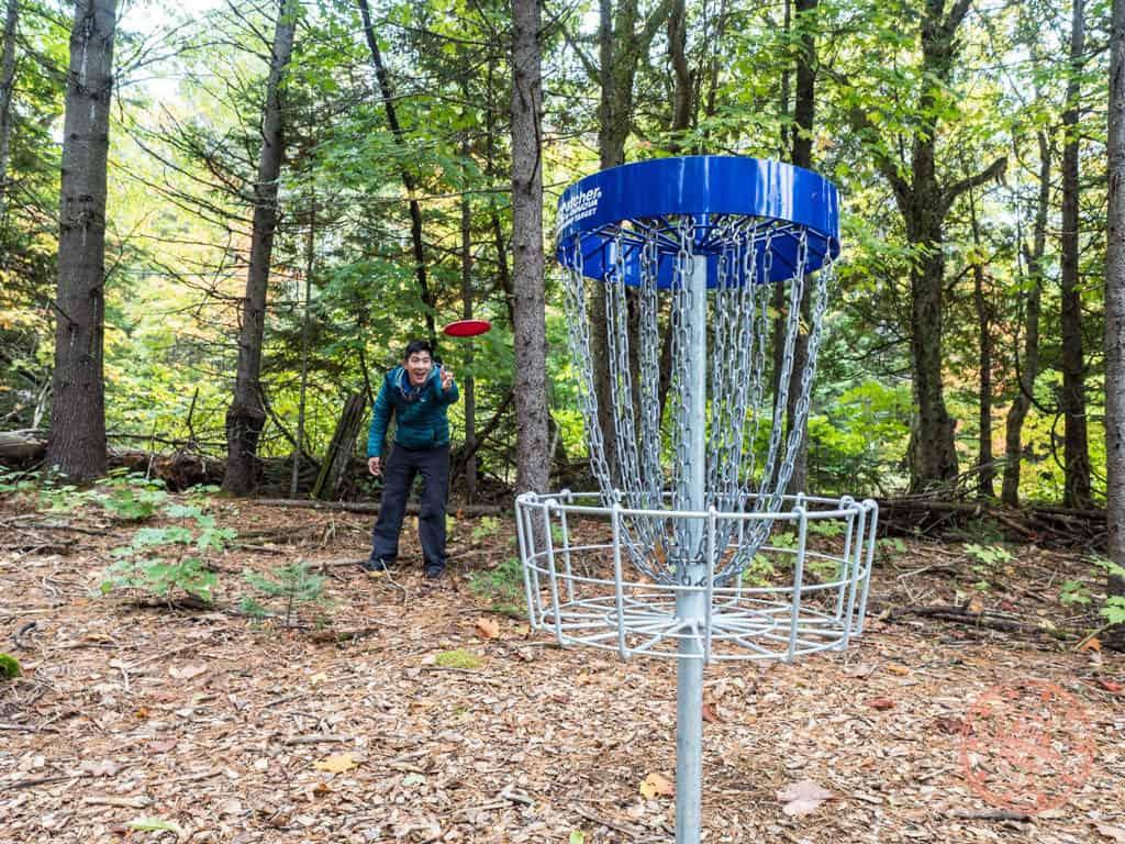 mikisew provincial park disc golf course