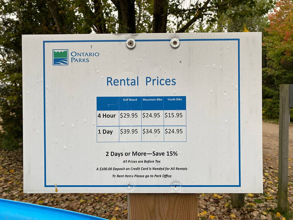 mikisew rental prices chart