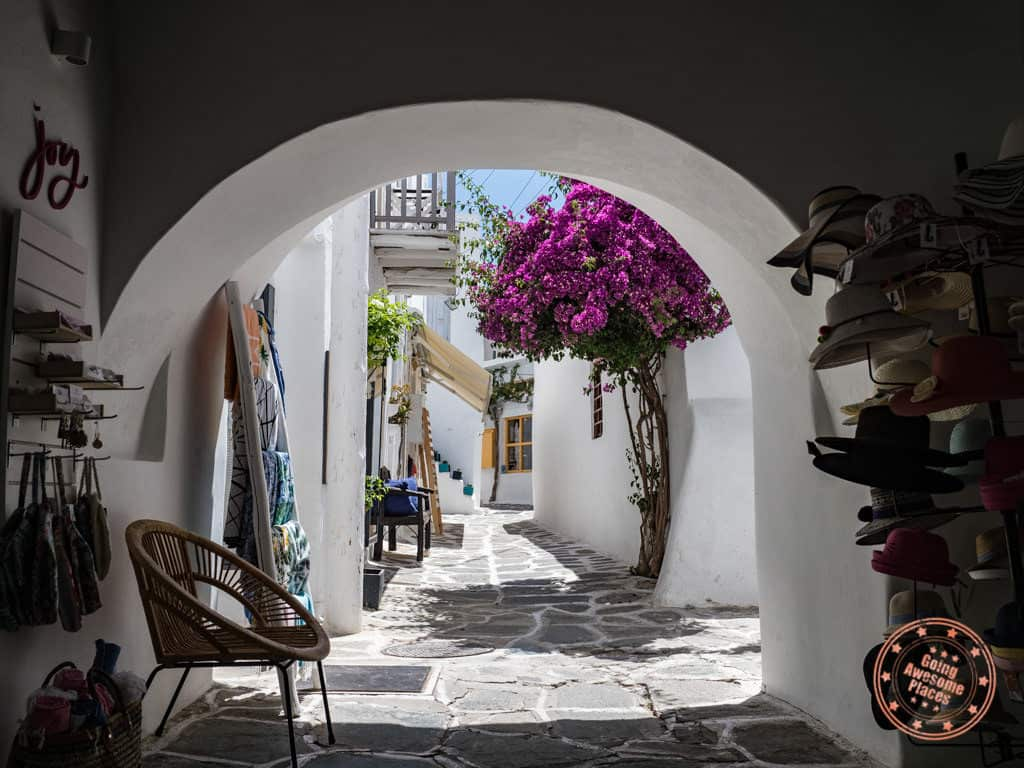 naoussa town in paros greece 2 day itinerary