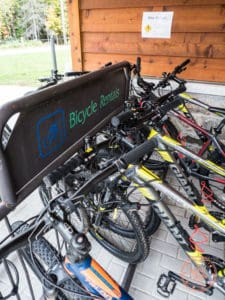 restoule mountain bike rentals