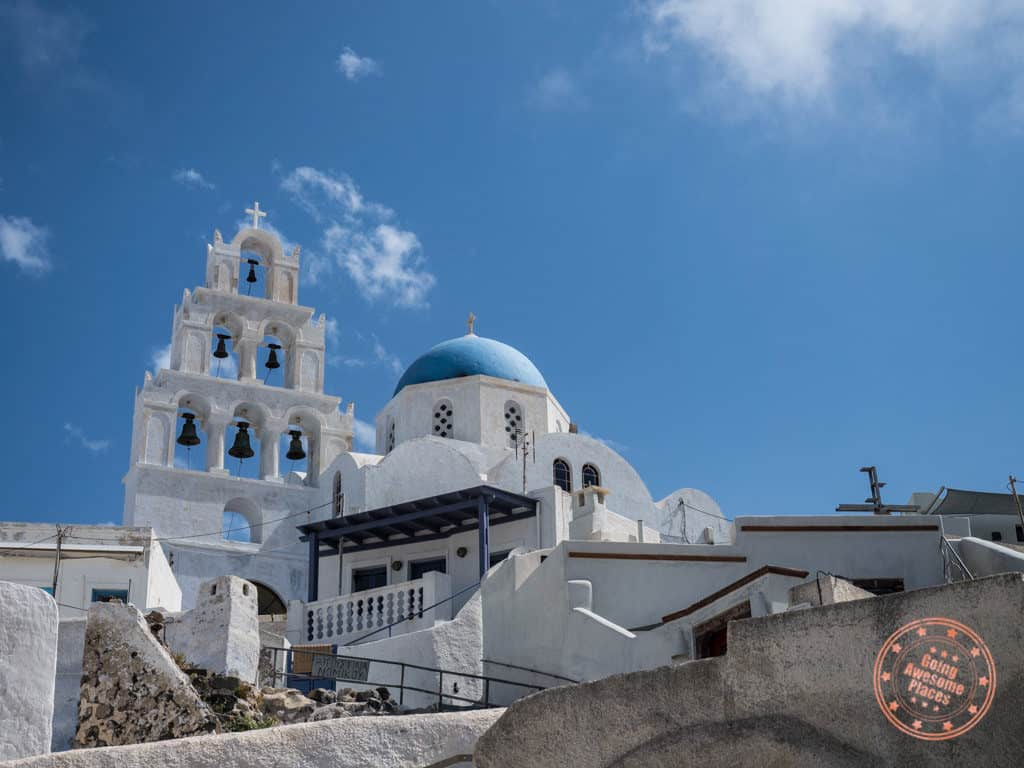 3 days in santorini pyrgos ancient town