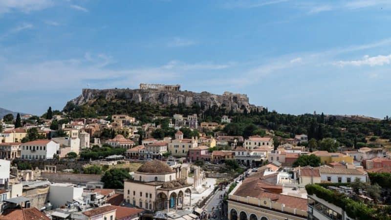 athens 2 day itinerary featured