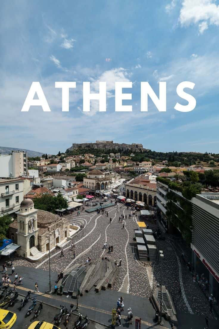 If you\'re crunched on time and only have 2 days, here\'s how to plan a 2 day itinerary in Athens, Greece. Inside you\'ll find tips and advice on what to see, what to do, where to stay, and where to eat #visitgreece #athens #thisisathens #greece