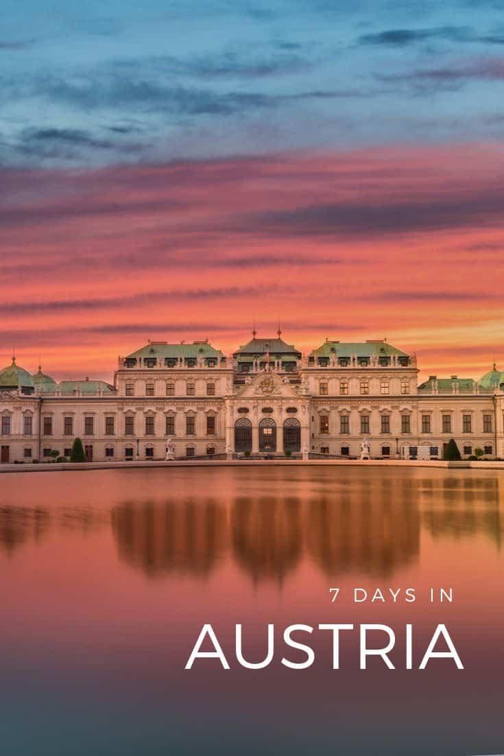 Austria 7 Day Itinerary - Best of Vienna, Salzburg & Innsbruck