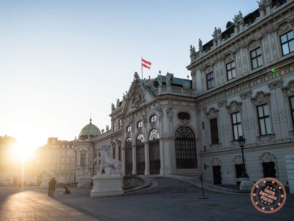 belvedere palace vienna austria 7 day itinerary