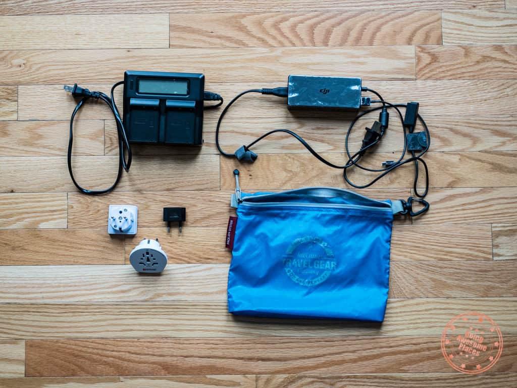 charging equipment for egypt packing list