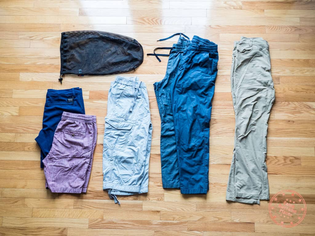 what pants to pack for a trip to egypt
