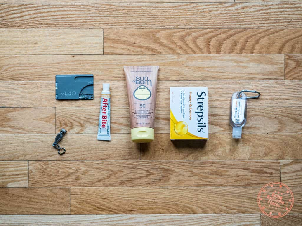 personal items to pack for a trip to egypt