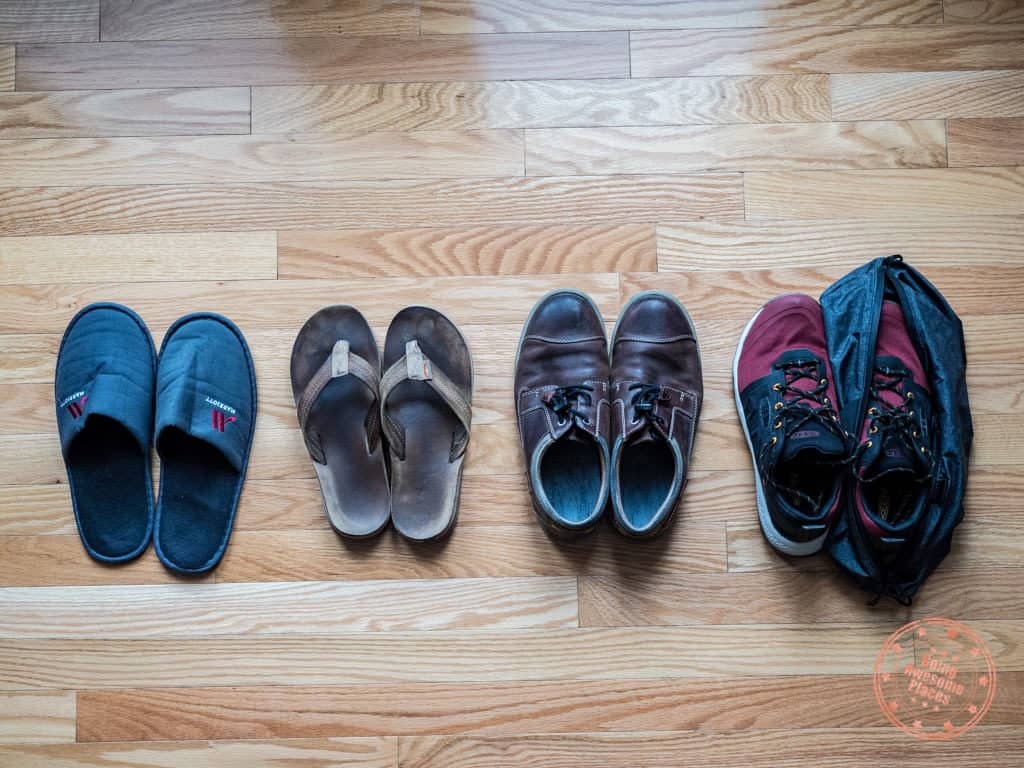 footwear to pack to egypt