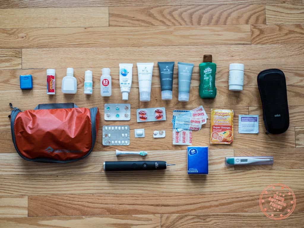toiletries what to pack for egypt