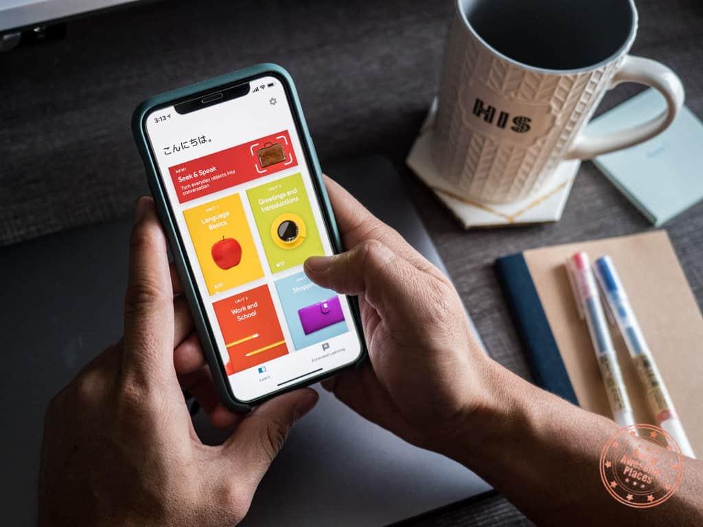 rosetta stone japanese review mobile app