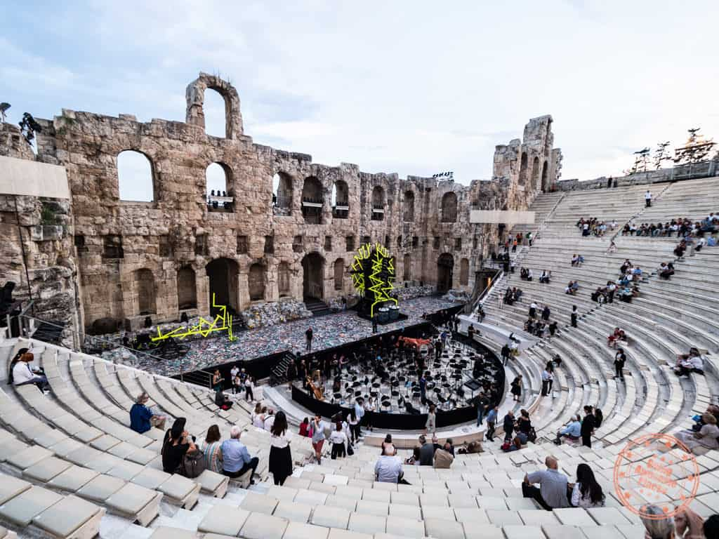 odeon herodes atticus opera what to do in athens in 2 days