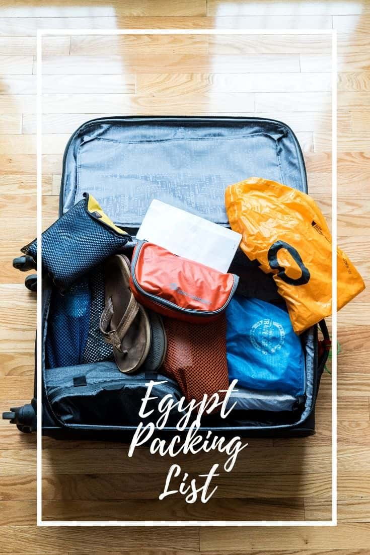 Egypt Packing List - What To Wear, Camera Gear, and more!