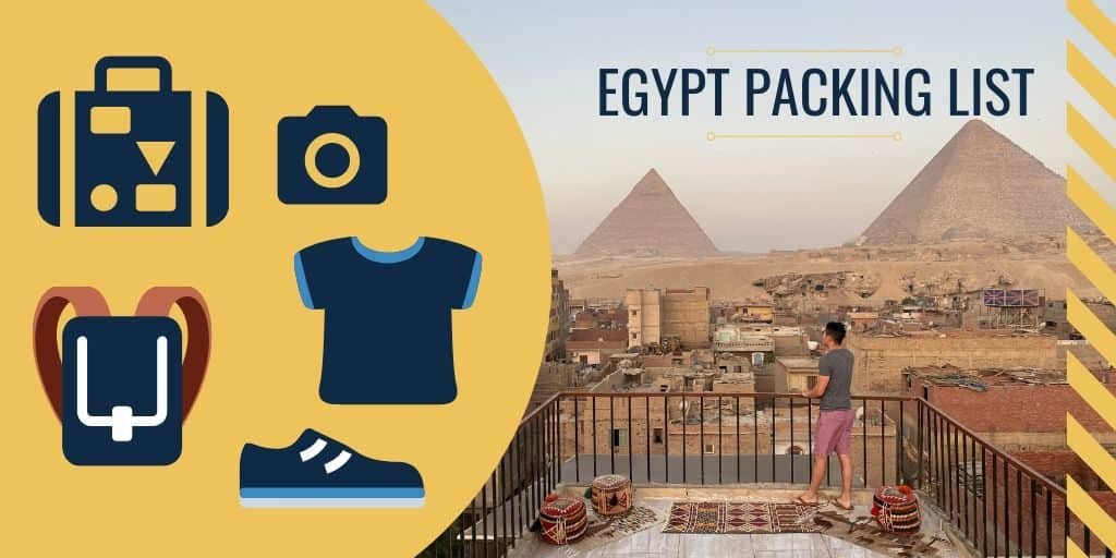 what to pack for egypt packing list