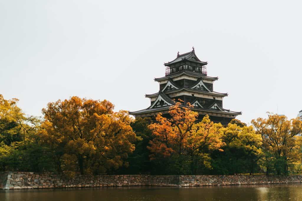 hiroshima castle is a top thing to do in Hiroshima