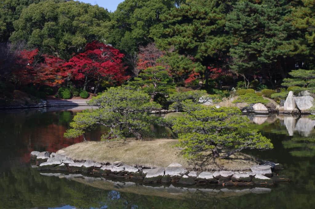 shukkeien garden in hiroshima