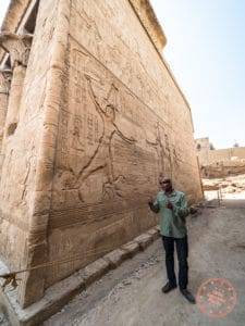abdulla egyptologist dahabiya nile cruise temple esna