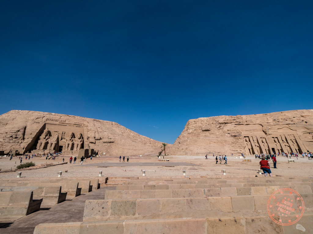 abu simbel complex with both temples