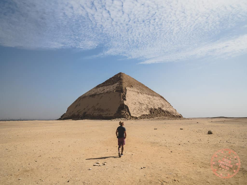 bent pyramid dashur egypt