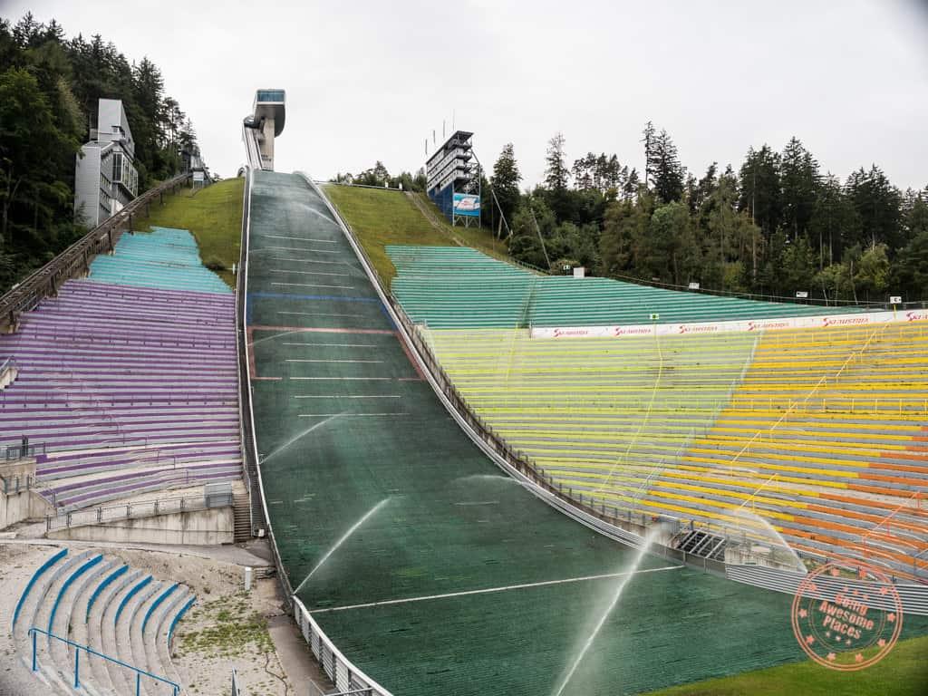 bergisel ski jump innsbruck