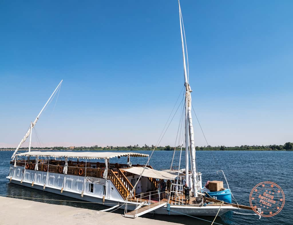 dahabiya nile cruise and stay experience in egypt