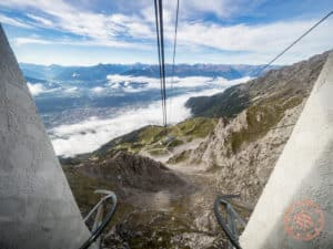 cable car seegrubenbahn nordkette innsbruck