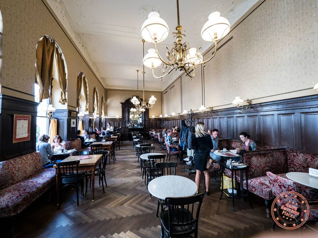 cafe sperl viennese coffee house interior