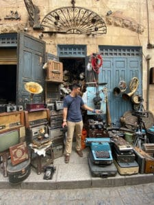 cairo souk antique store what to wear in egypt