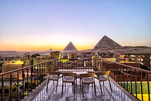comfort pyramids inn where to stay in cairo giza