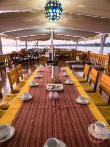 egypt nile cruise afternoon tea
