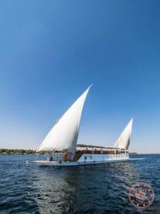 dahabiya loulia sailing nile cruise egypt