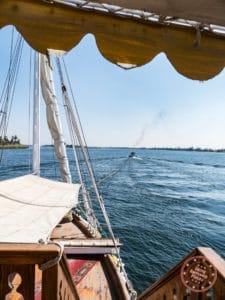 dahabiya loulia tug boat nile cruise egypt