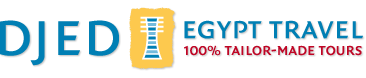 djed egypt travel logo