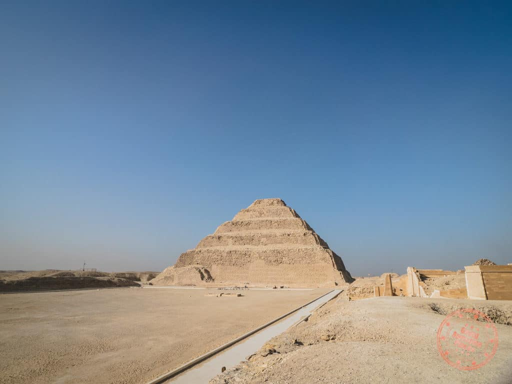 djoser step pyramid saqqara egypt