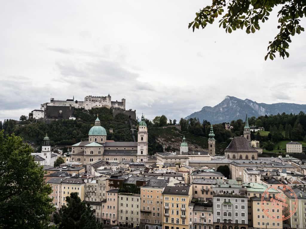 fortress hohensalzburg lookout austria