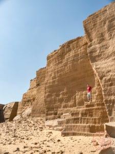 gebel el silsila quarry nile egypt