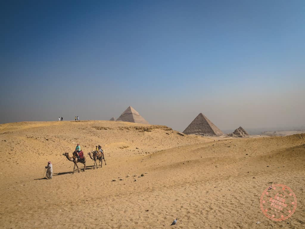 great pyramids of giza in 10 day egypt itinerary