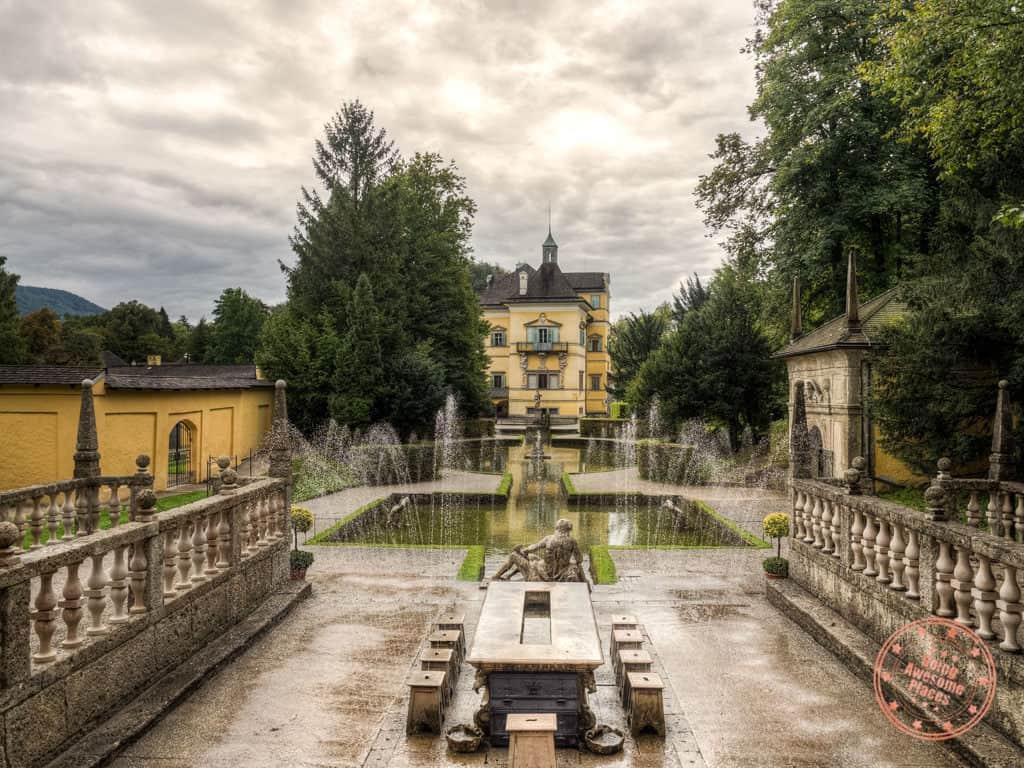 schloss hellbrunn trick fountains