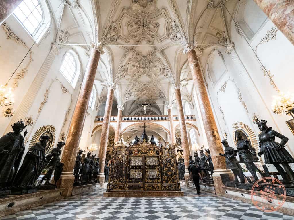 hofkirche cenotaph for maximillian i