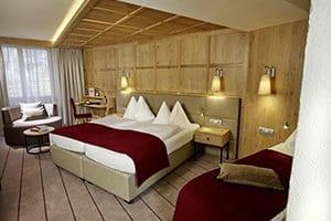 hotel innsbruck bedroom