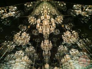 yayoi kasuma infinity mirror room swarovski crystal worlds austria