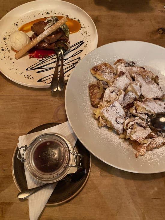 kaiserschmarrn dessert innsbruck