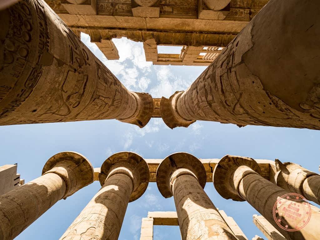 karnak temple luxor hypostyle columns