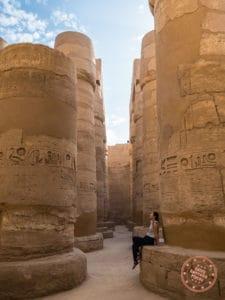 karnak temple hypostyles columns